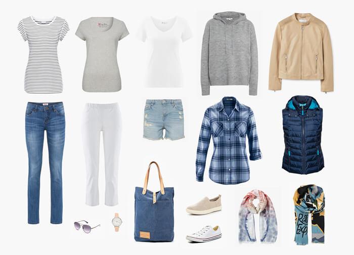 капсульный гардероб с стиле casual