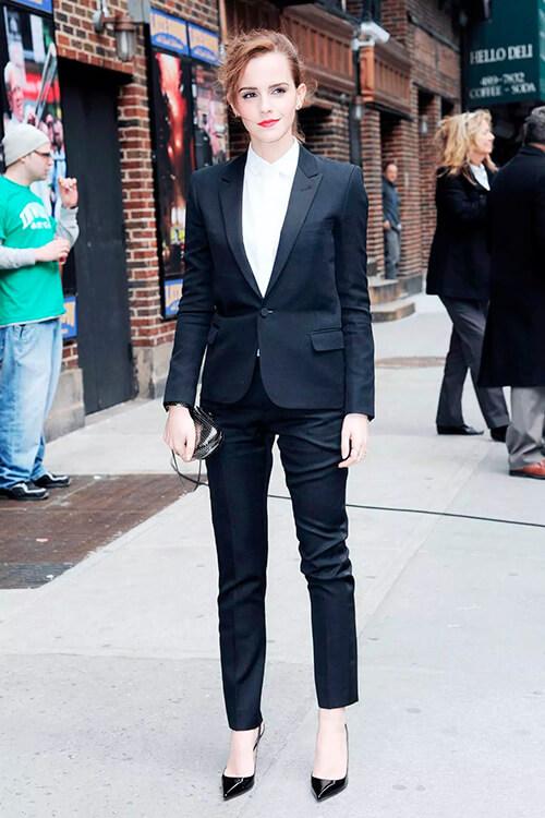 пример классического стиля в одежде