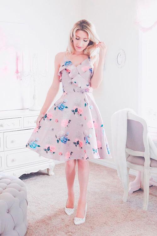 наивно-романтический стиль одежды