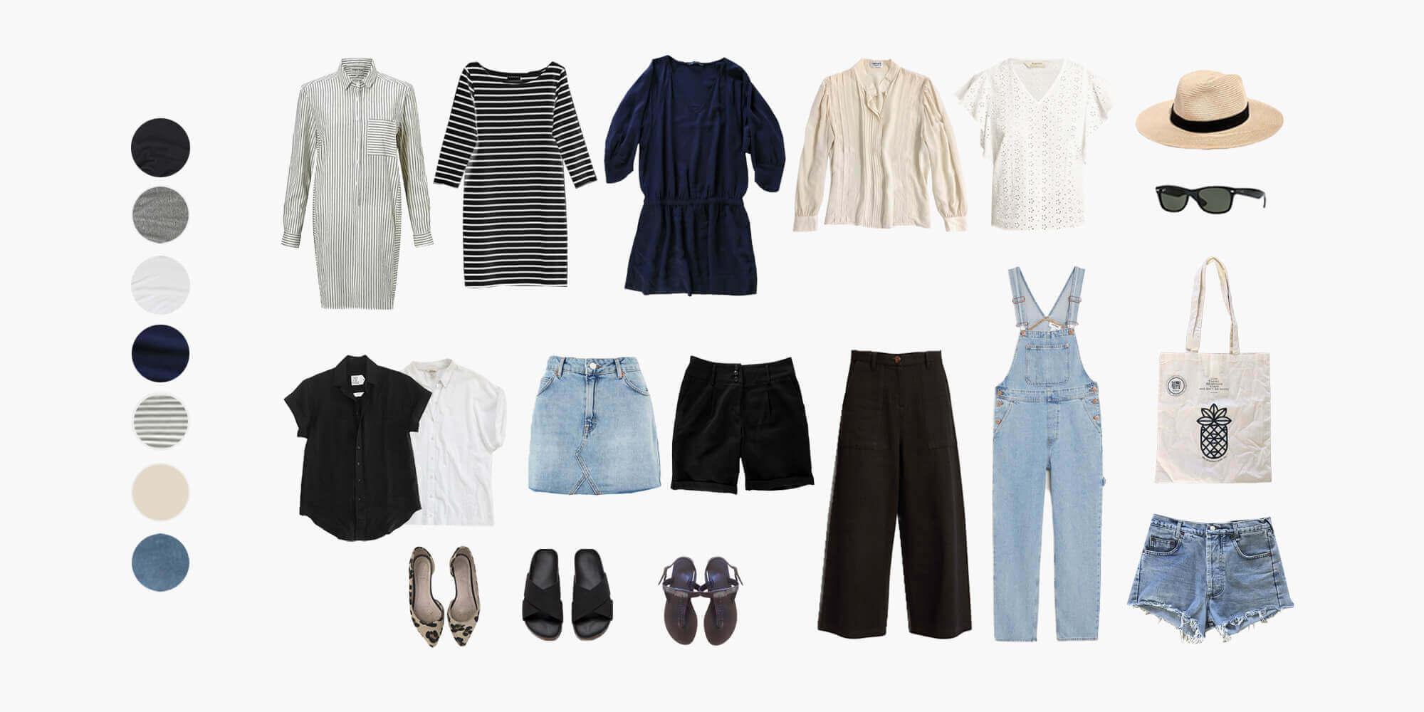 Пример капсулы одежды