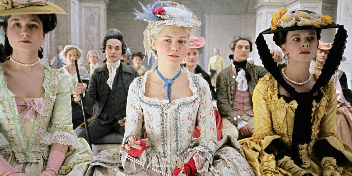 кадр из фильма Мария-Антуанетта