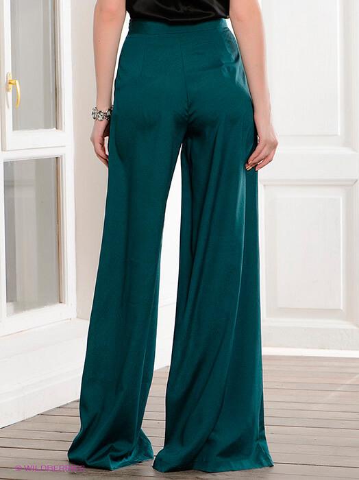 широкие свободные женские брюки